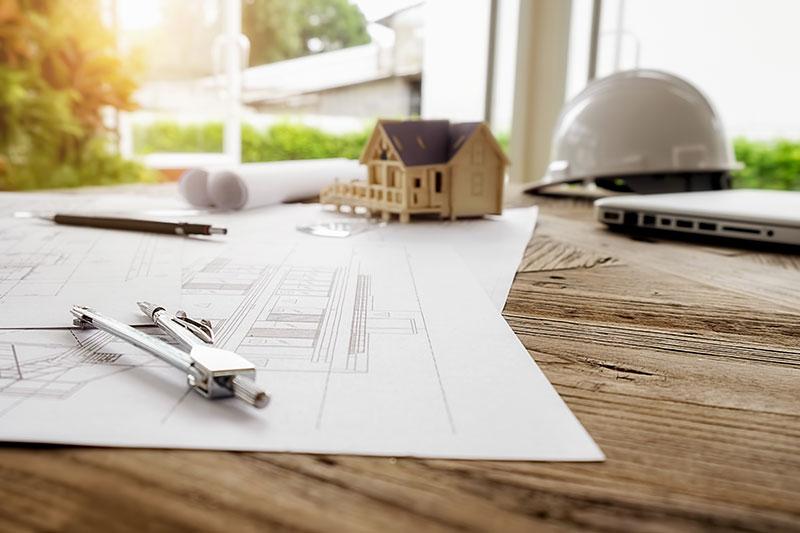 Architektur Zeichnung